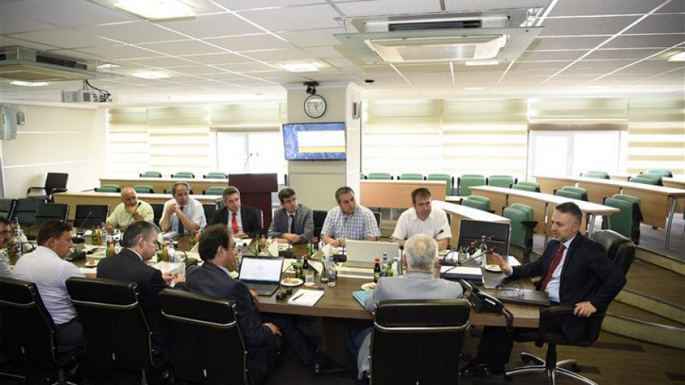 Measures to be taken for water structures were discussed