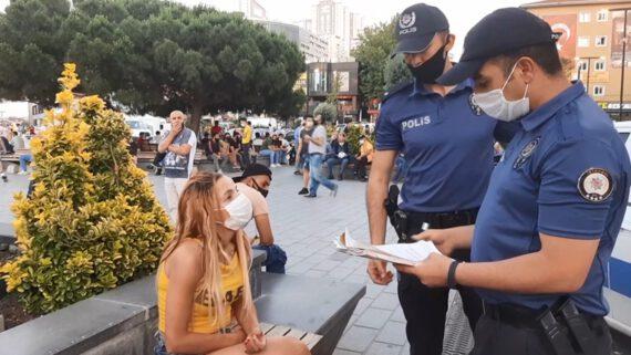 maske cezası polis